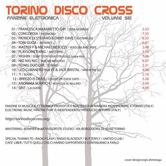 Torino Disco Cross vol. 6 Cover Retro